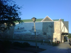 Mural in Manteo