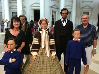 Visiting the Lincolns